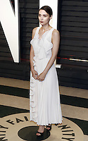 www.acepixs.com<br /> <br /> February 26 2017, LA<br /> <br /> Rooney Mara arriving at the Vanity Fair Oscar Party at the Wallis Annenberg Center for the Performing Arts on February 26 2017 in Beverly Hills, Los Angeles<br /> <br /> By Line: Famous/ACE Pictures<br /> <br /> <br /> ACE Pictures Inc<br /> Tel: 6467670430<br /> Email: info@acepixs.com<br /> www.acepixs.com
