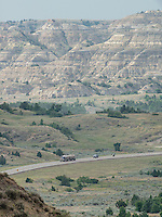 Landscape near Williston, North Dakota where there is a sharp rise in shale drilling for oil in the large Bakken Formation, Tuesday, July 17, 2012. ..Photo by MATT NAGER
