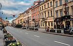Ulica Nowy Świat, Warszawa, Polska<br /> Nowy Świat Street, Warsaw, Poland
