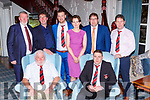 Killarney Rugby club members at the clubs social in the Killarney Avenue Hotel on Friday night Luke O'Sullivan Presidenta nd Jerimiah. Back row: Mike Walker, Ger Sugrue, Darren Enright, Fiona Landers, John O'Connell and Tom O'Leary
