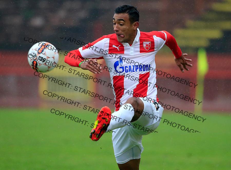 Fudbal Jelen Super League season 2015-2016<br /> Crvena Zvezda v Vozdovac<br /> Bruno Oliveira de Matos<br /> Beograd, 28.11.2015.<br /> foto: Srdjan Stevanovic/Starsportphoto&copy;