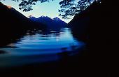 Lake Gunn, Fiordland National Park, South Island, New Zealand.