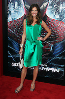 Tricia Helfer at the premiere of Columbia Pictures' 'The Amazing Spider-Man' at the Regency Village Theatre on June 28, 2012 in Westwood, California. © mpi22/MediaPunch Inc. *NORTEPHOTO.COM*<br />