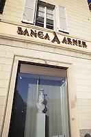 - Lugano, Arner Bank headquarters....- Lugano, sede della banca Arner