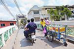 Street scenes in Old Bangkok, Thailand