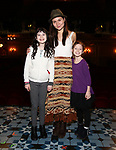 Savvy Crawford, Phillipa Soo, Audrey Bennett during the Actors' Equity Broadway Opening Night Gypsy Robe Ceremony honoring Manoel Felciano for 'Amelie' at the Walter Kerr Theatre on April 3, 2017 in New York City