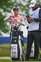 Azahara Munoz (ESP) looks over her tee shot on 2 during round 4 of the KPMG Women's PGA Championship, Hazeltine National, Chaska, Minnesota, USA. 6/23/2019.<br /> Picture: Golffile | Ken Murray<br /> <br /> <br /> All photo usage must carry mandatory copyright credit (© Golffile | Ken Murray)