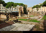 Largo di Torre Argentina Temple C Temple of Feronia 290 BC Theater of Pompey 52 BC Temple B Temple of Fortuna 2nd c BC Temple A Temple of Juturna 3rd c BC Columns of Hecatostylum (hundred-column portico) background right Campus Martius Rome