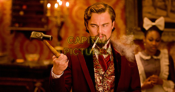 Leonardo DiCaprio.in Django Unchained (2012).*Filmstill - Editorial Use Only*.CAP/FB.Supplied by Capital Pictures.