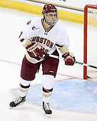 Isaac MacLeod (BC - 7) - The Boston College Eagles defeated the visiting University of Toronto Varsity Blues 8-0 in an exhibition game on Sunday afternoon, October 3, 2010, at Conte Forum in Chestnut Hill, MA.