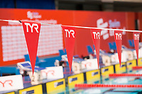 Picture by Allan McKenzie/SWpix.com - 14/12/2017 - Swimming -Swim England Winter Champs - Ponds Forge International Sports Centre - Sheffield, England - TYR, branding.