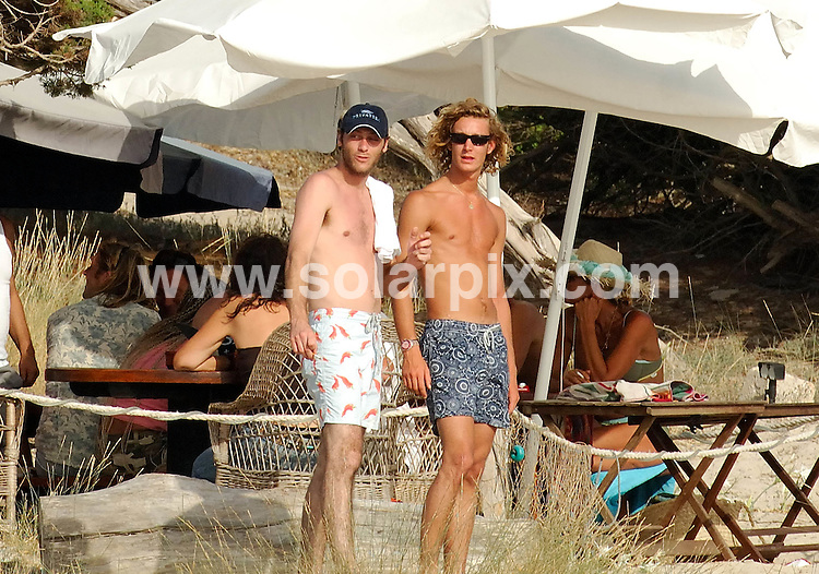**ALL ROUND PICTURES FROM SOLARPIX.COM**.**WORLDWIDE SYNDICATION RIGHTS EXCLUDING SPAIN - NO PUBLICATION IN SPAIN**.ALL ROUND PICTURES FROM SOLARPIX.COM - .Eldest son of Princess Caroline of Monaco, Andrea Casiraghi, with friends on a yacht  Ibiza. .JOB REF: MAD-ROL 4292     DATE: 16.07.07.**MUST CREDIT SOLARPIX.COM OR DOUBLE FEE WILL BE CHARGED* *UNDER NO CIRCUMSTANCES IS THIS IMAGE TO BE REPRODUCED FOR ANY ONLINE EDITION WITHOUT PRIOR PERMISSION*