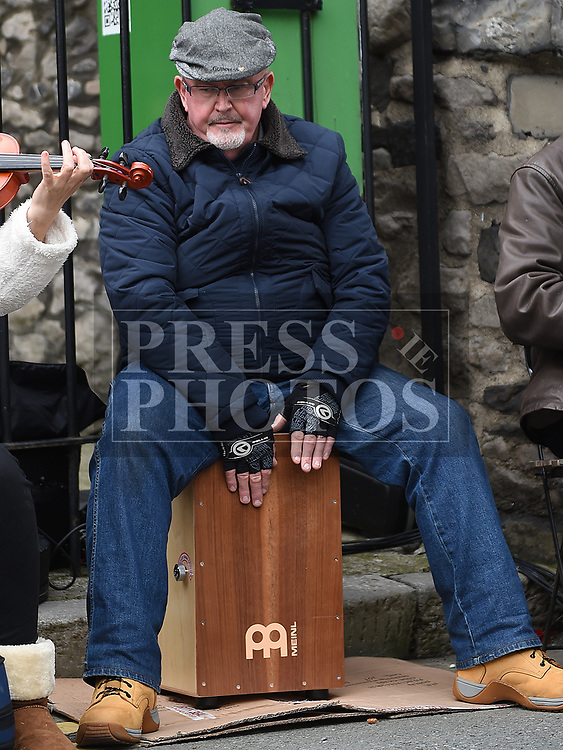 Joe Farrell performing at the Music at the Gate. Photo:Colin Bell/pressphotos.ie