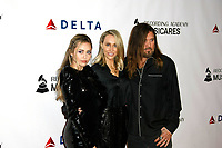LOS ANGELES, CA - FEBRUARY 08: Miley Cyrus, Letitia Cyrus and Billy Ray Cyrus at the MusiCares Person of the Year Tribute held at Los Angeles Convention Center, West Hall on February 8, 2019 in Los Angeles, California. Photo: imageSPACE<br /> CAP/MPI/DC<br /> &copy;DC/MPI/Capital Pictures<br /> CAP/MPI/DC<br /> &copy;DC/MPI/Capital Pictures<br /> CAP/MPI/IS<br /> &copy;IS/MPI/Capital Pictures