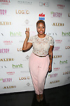"Singer Chrisette Michele Attends Wendy Williams celebrates the launch of her new book ""Ask Wendy"" by HarperCollins and  her new Broadway role as Matron ""Mama"" Morton in Chicago - Held at Pink Elephant, NY"
