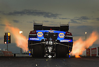 Jan. 16, 2013; Jupiter, FL, USA: NHRA top funny car driver Ron Capps during testing at the PRO Winter Warmup at Palm Beach International Raceway.  Mandatory Credit: Mark J. Rebilas-