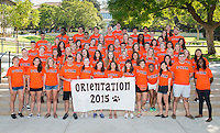 Occidental College's O-Team gears up for incoming first years, Aug. 17, 2015.<br />