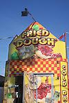 Fried Dough kiosk at carnival.