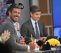 NEW YORK, NY-June 29: Jess Palmer host at Good Morning America  wearing Mouse Ears from Walt Disney China in New York. NY June 29, 2016. Credit:RW/MediaPunch