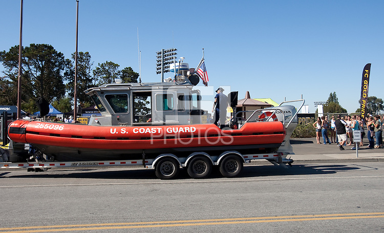 Coast Guard Boat. FC Gold Pride defeated the Philadelphia Independence 4-0 to win the 2010 WPS Championship at Pioneer Stadium in Hayward, California on September 26th, 2010.