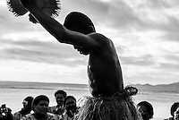 Namotu Island, Fiji (Saturday, June 6, 2015)  The traditional Kava Ceremony today marked the commencement of the official waiting period for the fifth stop on the 2015 WSL Championship Tour (CT), the Fiji Pro. Attended by all of the Top 34 surfers as well as Fijian Government Officials and guests the ceremony included a blessing, the official welcome and Fijian dancing and singing.<br />  Photo: joliphotos.com