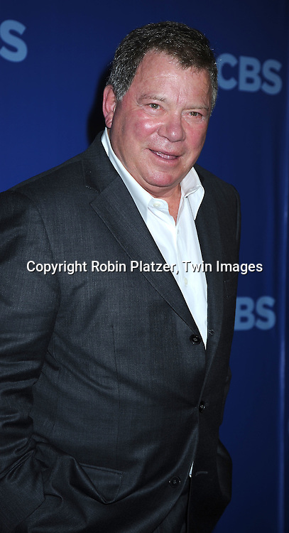"William Shatner, star of "" $#*! My Dad Says""  arriving at The CBS UPfront presentation of their 2010-2011 Season on May 19, 2010 at Lincoln Center."