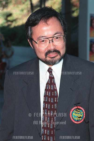 21JUL99: O.J. Simpson criminal trial judge LANCE ITO at the Los Angeles opening night of Ringling Bros and Barnum & Bailey Circus. ..(Looks like he's still wearing his badge from the trial!)  .                         .© Paul Smith / Featureflash