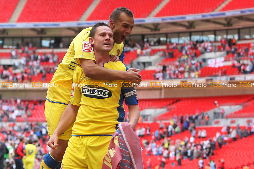 Dagenham & Redbridge defeat Rotherham to win promotion to League One - Dagenham & Redbridge vs Rotherham United - Coca Cola League Two Play-Off Final at Wembley Stadium -  30/05/10 - MANDATORY CREDIT: Gavin Ellis/TGSPHOTO - Self billing applies where appropriate - Tel: 0845 094 6026