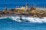 Pictures taken at Dee Why with 2.5 metres of SE swell at 12 seconds (primary direction169) water 18C.