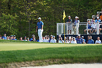 Jon Rahm (ESP) on the 12th green during the 1st round at the PGA Championship 2019, Beth Page Black, New York, USA. 17/05/2019.<br /> Picture Fran Caffrey / Golffile.ie<br /> <br /> All photo usage must carry mandatory copyright credit (&copy; Golffile | Fran Caffrey)