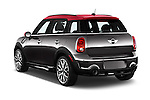 Car pictures of rear three quarter view of a 2015 MINI Countryman John Cooper Works 5 Door Hatchback Angular Rear
