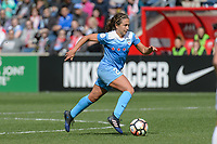 Bridgeview, IL - Saturday April 22, 2017: Danielle Colaprico during a regular season National Women's Soccer League (NWSL) match between the Chicago Red Stars and FC Kansas City at Toyota Park.