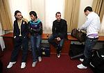 FUDBAL, BEOGRAD, 23. Mar. 2009. - Reprezentativci Srbije na okupljanju fudbalske selekcije u sportskom centru Kovilovo pred mec protiv Rumunije, koji se igra u okviru kvalifikacija za svetsko prvenstvo. FOTO NENAD NEGOVANOVIC
