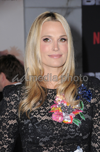 "13 December  2017 - Westwood, California - Molly Sims. Netflix's ""Bright"" Los Angeles Premiere held at Regency Village Theatre in Westwood. Photo Credit: Birdie Thompson/AdMedia"