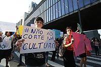 04.04.2019 - Ato contra os cortes na Cultura em SP