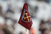 The corner flag during West Ham United vs Crystal Palace, Premier League Football at The London Stadium on 5th October 2019
