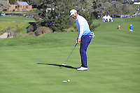Scott Piercy (USA) putts on the 6th green at Pebble Beach Golf Links during Saturday's Round 3 of the 2017 AT&amp;T Pebble Beach Pro-Am held over 3 courses, Pebble Beach, Spyglass Hill and Monterey Penninsula Country Club, Monterey, California, USA. 11th February 2017.<br /> Picture: Eoin Clarke | Golffile<br /> <br /> <br /> All photos usage must carry mandatory copyright credit (&copy; Golffile | Eoin Clarke)