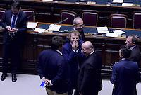 Roma, 30 Aprile 2015<br /> Luca Lotti.<br /> Votata le seconda fiducia alla Legge elettorale