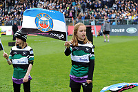 The pre-match guard of honour. Gallagher Premiership match, between Bath Rugby and Wasps on May 5, 2019 at the Recreation Ground in Bath, England. Photo by: Patrick Khachfe / Onside Images