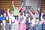 Brendan Cronin celebrates with his supporters after he was elected in the Killlarney Electoral area on Saturday night