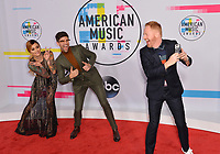 Kehlani, Justin Mikita &amp; Jesse Tyler Ferguson at the 2017 American Music Awards at the Microsoft Theatre LA Live, Los Angeles, USA 19 Nov. 2017<br /> Picture: Paul Smith/Featureflash/SilverHub 0208 004 5359 sales@silverhubmedia.com