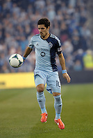 Benny Feilhaber (10) midfield Sporting KC in action..Sporting Kansas City defeated D.C Utd1-0 at Sporting Park, Kansas City, Kansas.