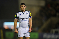 Ollie Devoto of Bath Rugby looks on. Aviva Premiership match, between Newcastle Falcons and Bath Rugby on January 2, 2016 at Kingston Park in Newcastle upon Tyne, England. Photo by: Patrick Khachfe / Onside Images