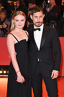 BERLIN, GERMANY - FEBRUARY 7: Maria Dragus and Clemens Schick attend The Kindness Of Strangers premiere and Opening Night Gala of the 69th Berlinale International Film Festival Berlin at the Berlinale Palace on February 7, 2018 in Berlin, Germany.<br /> CAP/BEL<br /> ©BEL/Capital Pictures