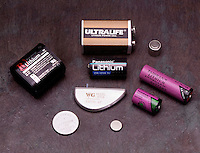 LITHIUM BATTERIES<br /> For Pacemaker, Watch, Camera, AA, 3v, 6v &amp; 9v<br /> Lithium ion batteries operate by shuttling lithium ions between a graphitic carbon anode and a lithium cobalt oxide cathode. Potential for use in fuel cell technology.