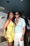 Vivica A. Fox and BJ Coleman Attend Vivica A. Fox Hosts Private Celebration for the 31st Birthday of Publicist BJ Coleman and the Launch of www.burgersandbourbon.com Sponsored by Pisco Portón,  at The Marcel Hotel's Polar Lounge, NY 8/25/11