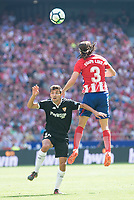 ATLETICO DE MADRID v SEVILLA FC. La Liga 2017-2018.