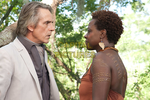 JEREMY IRONS &amp; VIOLA DAVIS<br /> in Beautiful Creatures (2013) <br /> *Filmstill - Editorial Use Only*<br /> CAP/NFS<br /> Image supplied by Capital Pictures