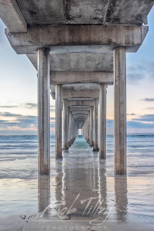USA, CA, La Jolla, Scripps Pier
