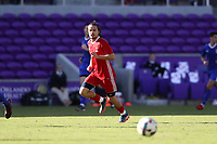 Orlando, Florida - Monday January 15, 2018: Manuel Cordeiro. Match Day 2 of the 2018 adidas MLS Player Combine was held Orlando City Stadium.